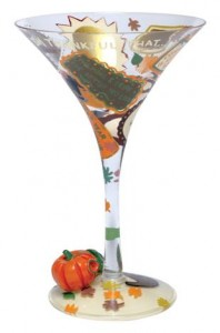 lolita thankful martini glass