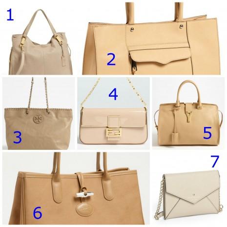 nude handbags, best nude bags, nordstrom nude bags